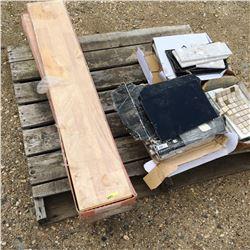 Pallet Lot: Flooring Variety (Laminate & Tile)