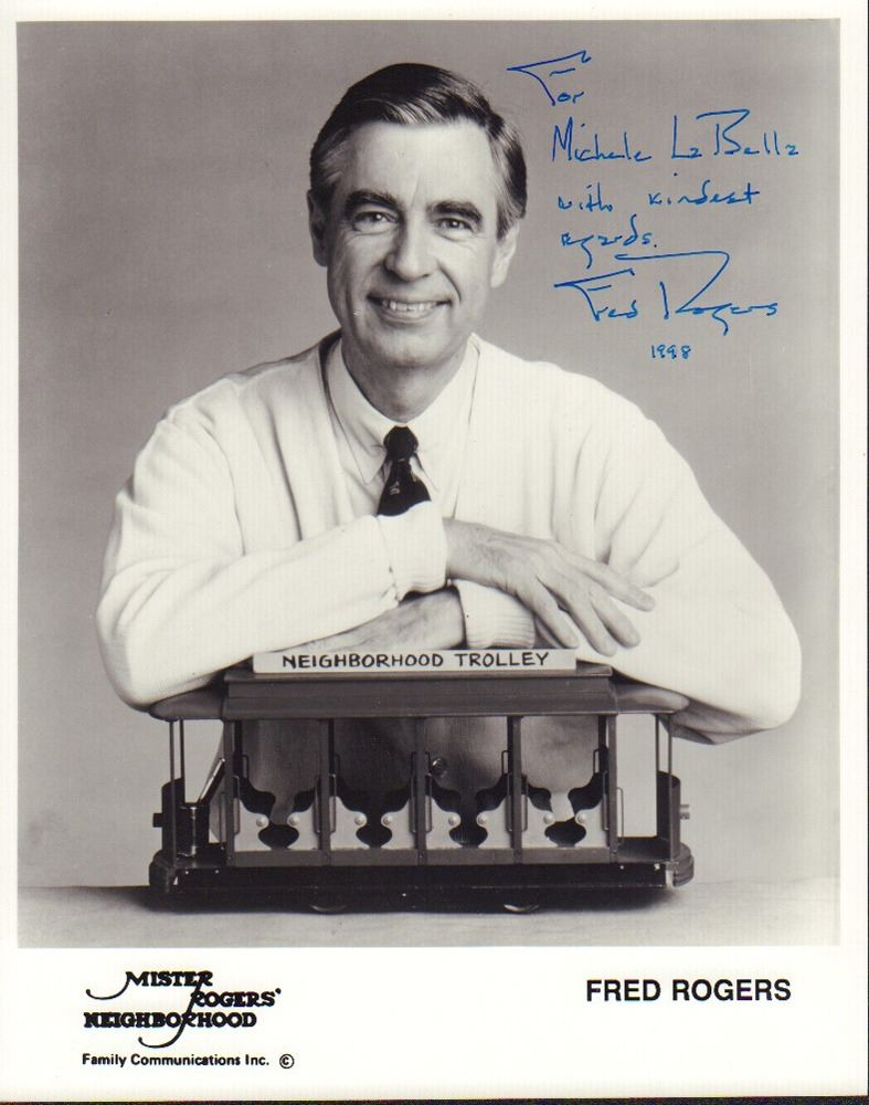 Fred Rogers Inscribed Signed 8x10 Photo