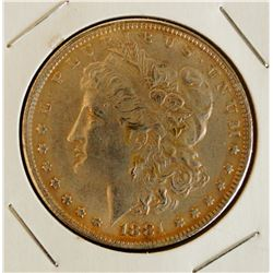 1881 'CC' Morgan Silver Dollar