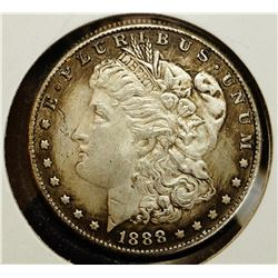 1888 'S' Morgan Silver Dollar