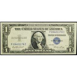 1935 series - USA $1 Silver Certificate