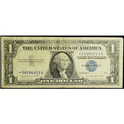 1957A series - *Star Note* - USA $1 Silver Certificate