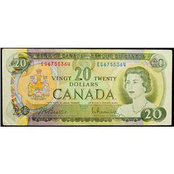 1969 $20 Dollar BC-50a, Bank of Canada Banknote