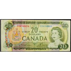 1969 $20 Dollar BC-50b, Bank of Canada Banknote