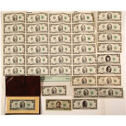 Unusual US $2 Group