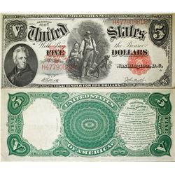 US $5, 1907 Series