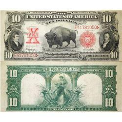 Bison $10 Note, 1901