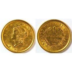 $1 Gold Piece
