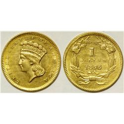 U.S. Gold Type III One Dollar