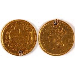 One Dollar Gold Piece