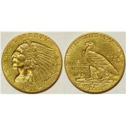 $2 1/2 Dollar Indian Head Gold Piece