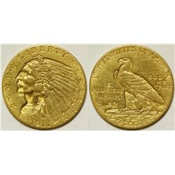 $2 1/2 Dollar Indian Head Gold Piece