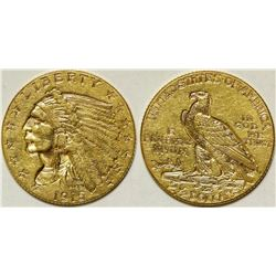 $2 1/2 Indian Head Gold Piece