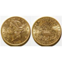 1900 $20 Gold Double Eagle