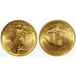$20 St. Gaudens Gold Piece, 1914-S