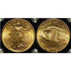 $20 St. Gaudens Gold Piece, 1915-S