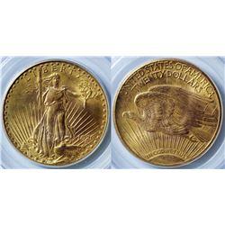 $20 St. Gaudens Gold Piece, 1926