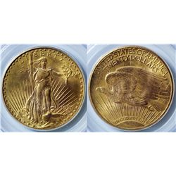 $20 St. Gaudens Gold Piece, 1926
