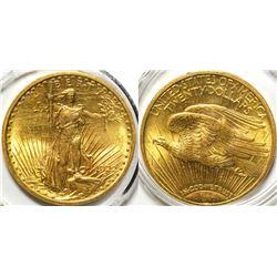 $20 St. Gaudens Gold Piece, 1922