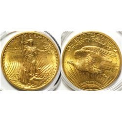 $20 St. Gaudens Gold Piece, 1922