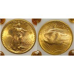$20 St. Gaudens Gold Piece, 1923