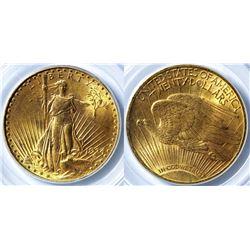 $20 St. Gaudens Gold Piece, 1924 MS-63