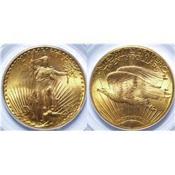 $20 St. Gaudens Gold Piece, 1927 MS-63