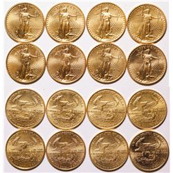 American Eagle Date Set of 1/4 Oz Coins (8)