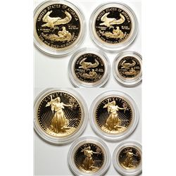 American Eagle Gold Mixed Proof Set