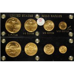American Gold Eagle Set