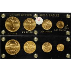 American Gold Eagle Set