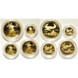 Gold American Eagles Mint Proof Set