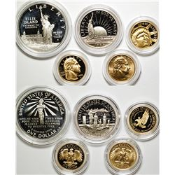 Commemorative Proof Sets (Gold & Silver)
