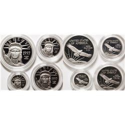 Platinum American Eagle  1997 Proof Set