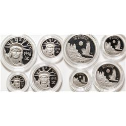 American Eagle Platinum 1998 Proof Coin Set