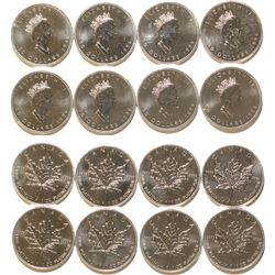 Eight Canadian Platinum 1 Ounce $50 Coins