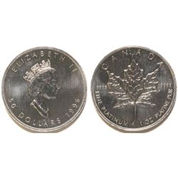Canadian Platinum 1oz $50 Coin