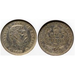 1883 Hawaii 10c Piece