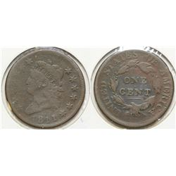1811 Cent Wide Date