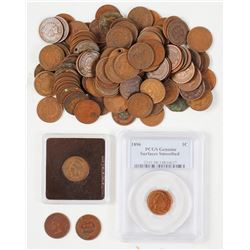 108 Indian Head Pennies