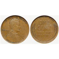 1909 S VDB Cent, VF30