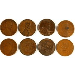 Rare Date Lincoln Pennies