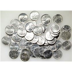 Group of Steel Pennies