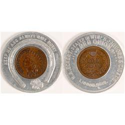 Encased Indian Cent