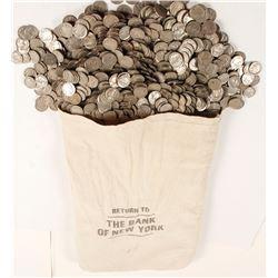 Bag of Buffalo Nickels