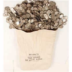 Bag of Buffalo Nickels
