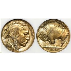 1938 D/S Buffalo Nickel MS 66