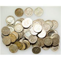 US Silver Dime Lot