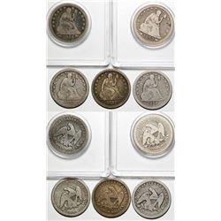 Five Seated Quarters