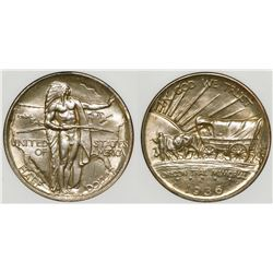 1936 Oregon Trail Commemorative Half